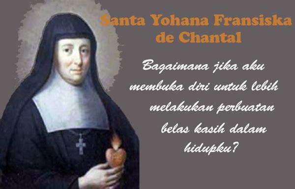 Santa Yohana Fransiska de Chantal