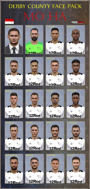 PES 2017 Facepack Derby County 2019 by Mo Ha
