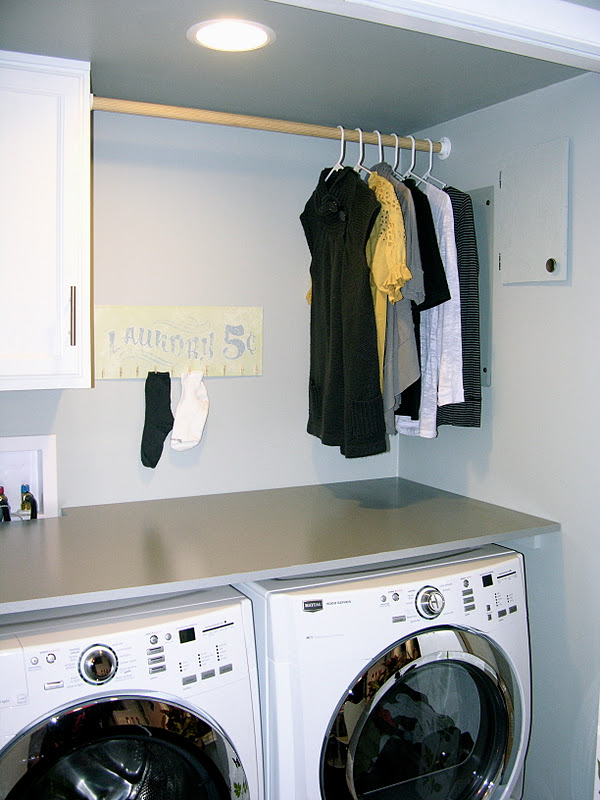 The Kersten Haus Finished Laundry
