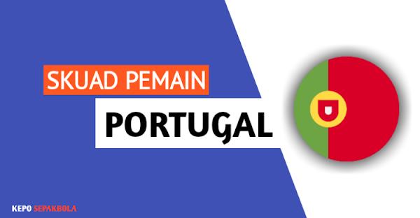 daftar susunan nama pemain timnas Portugal terbaru
