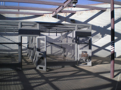 Exercise cages, ADX Florence, Colorado