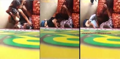 Soğan Halinde Dayıya Sakso Çekmek İçin Uğraşan 3 Kız
