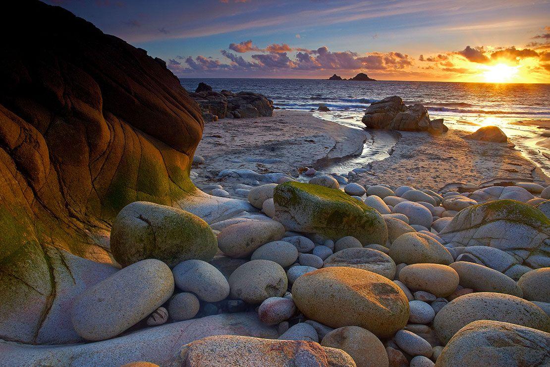 Porth Nanven Cornwall England