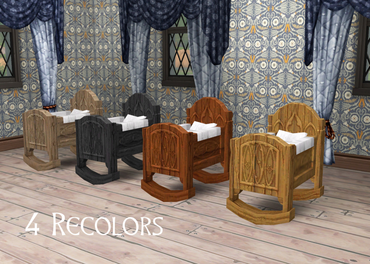 My Sims 4 Blog Medieval Middle Class Cradle By Historical