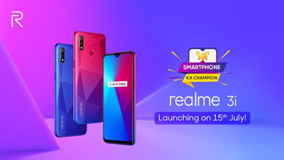 Realme 3i specification, price and launch date