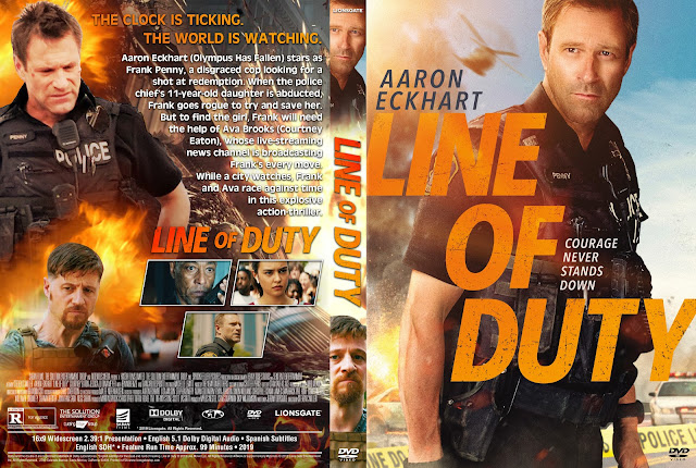 Line of Duty DVD Cover