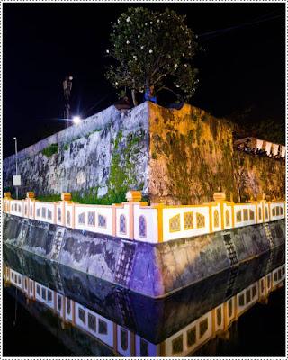Benteng oranje tempat berkumpul anak muda Ternate yang kreatif