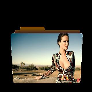Preview of Bold girl, attitude girl, stylish folder icon