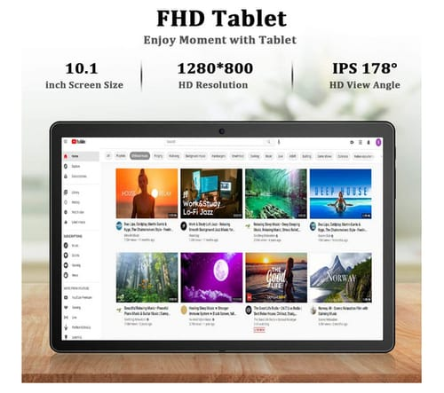 FEONAL K105 IPS Full HD 10 inch Android Tablet