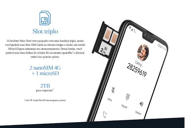 Asus ZenFone Max Shot Dual Chip