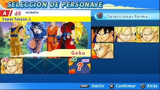 DBZ TTT MOD V2 LATINO CON MENÚ PERMANENTE [FOR ANDROID Y PC PPSSPP]