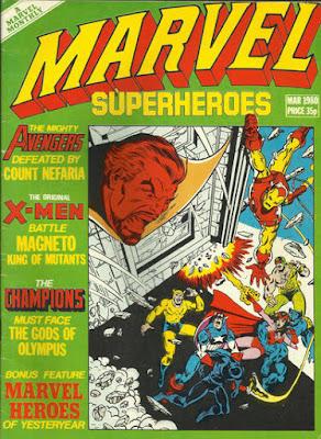 Marvel Superheroes #359, Count Nefaria