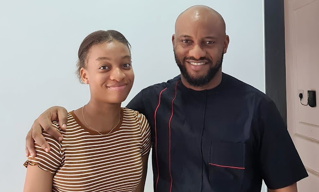 Yul Edochie celebrates his daughter's 16th birthday(Photos)