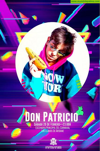 El sábado de Piñata llenará de ritmo, color y música las calles de Los Llanos con el encuentro de batucadas y comparsas y la actuación de Don Patricio