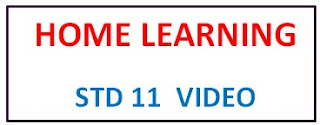 STD 11 Home Learning Video | Gujarat e Class Daily YouTube Online Class