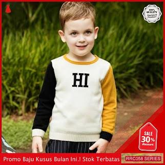 RRC058B43 Baju White Anak Laki Laki Hi White BMGShop