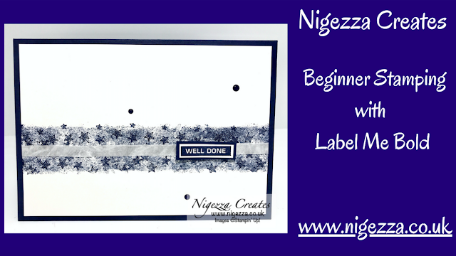 Nigezza Creates with Stampin' Up! Label Me Bold for beginner stamper