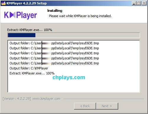 Hướng dẫn cài đặt KMPlayer trên máy tính e g