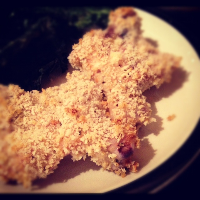 Buttermilk Panko Oven Baked Chicken