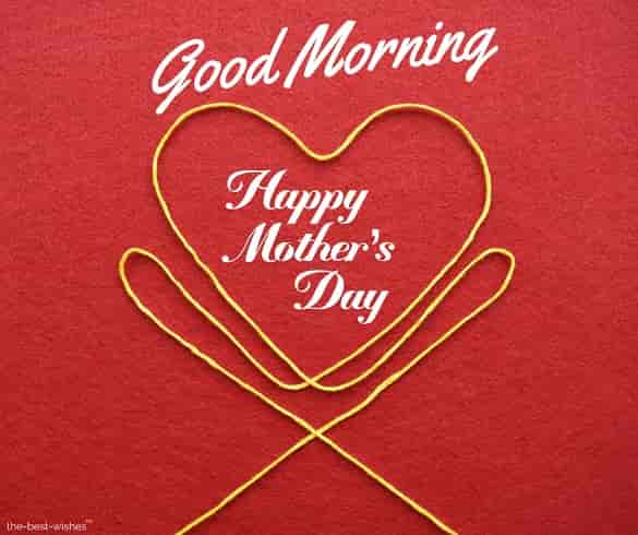 good morning happy mothers day images