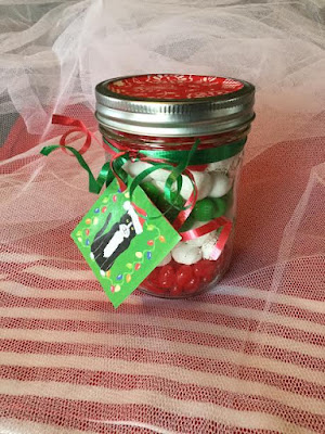 Candy mix gift jar