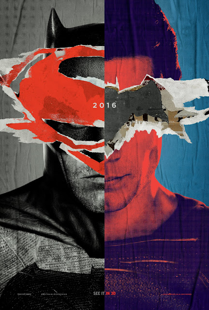 Batman v Superman: Dawn of Justice hacked poster