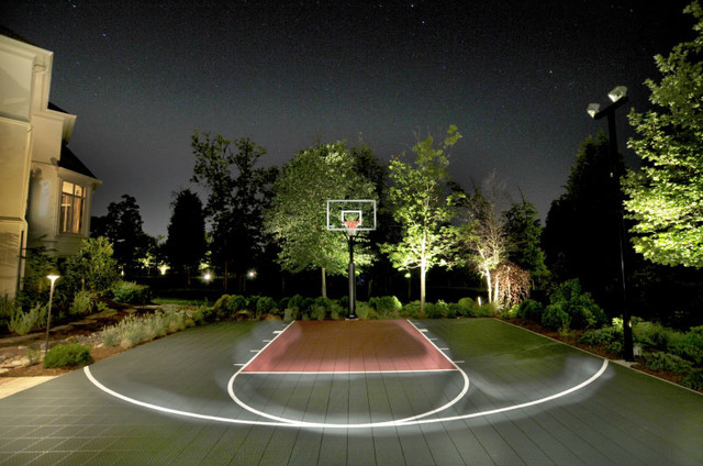 How to Light Up Your Backyard Basketball Court