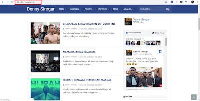 Denny Siregar, Dari Blog www.dennysiregar.com Menjadi www.dennysiregar.id