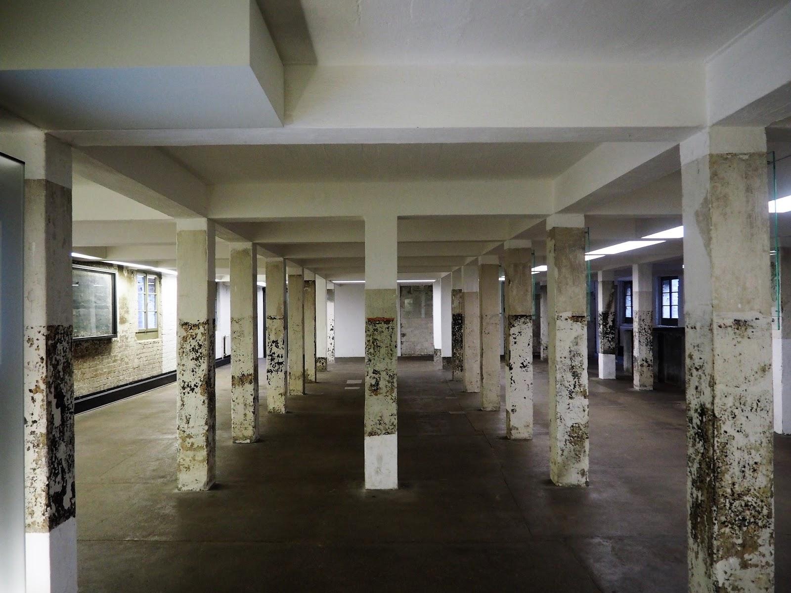 Sachsenhausen Concentration Camp kitchen