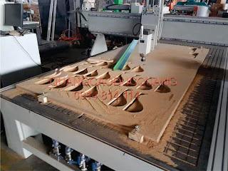 Cắt CNC gỗ giá rẻ Bình Dươn