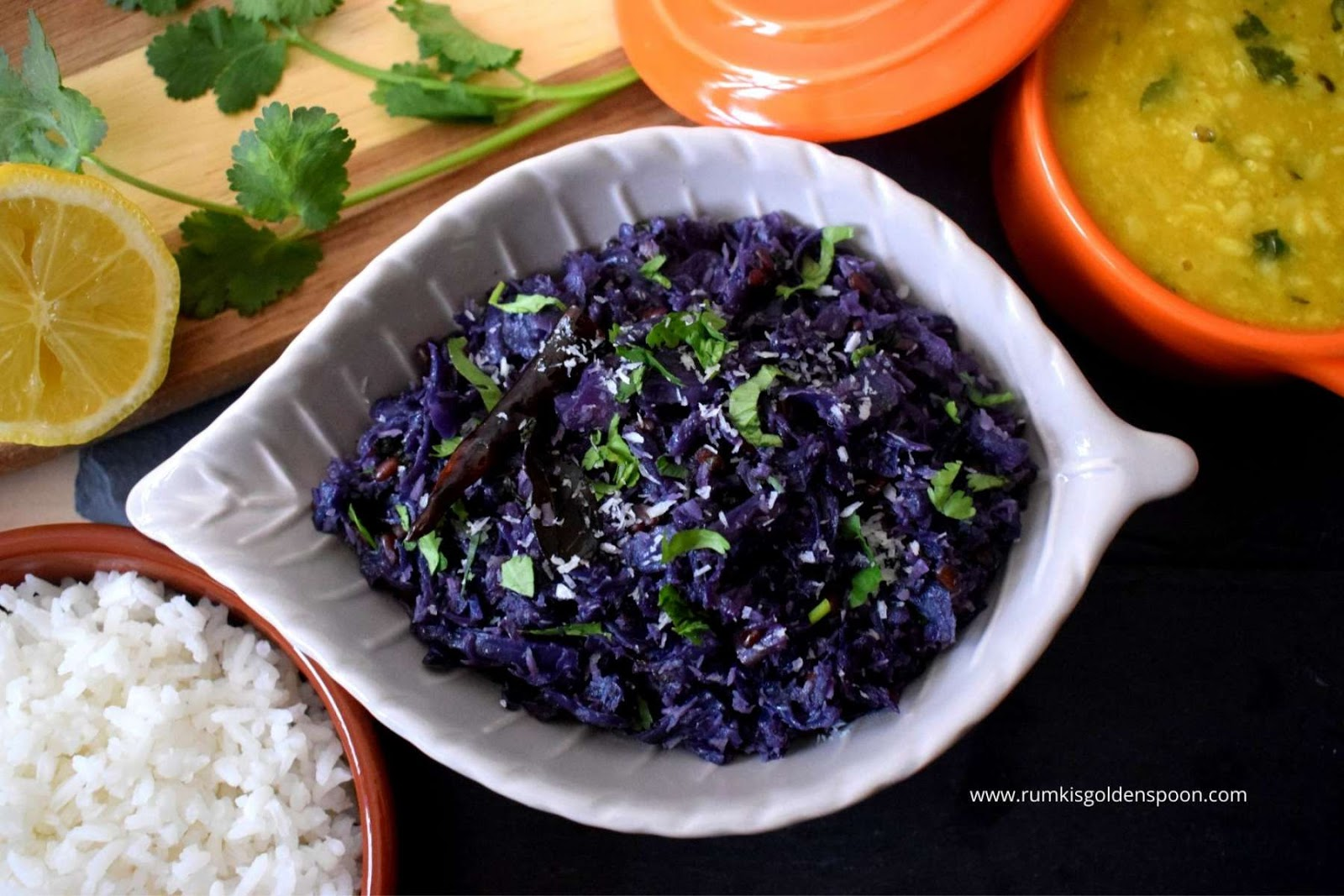 Red Cabbage Poriyal Rumki S Golden Spoon
