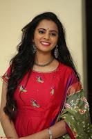 Manasa in Pink Salwar At Fashion Designer Son of Ladies Tailor Press Meet Pics ~  Exclusive 13.JPG