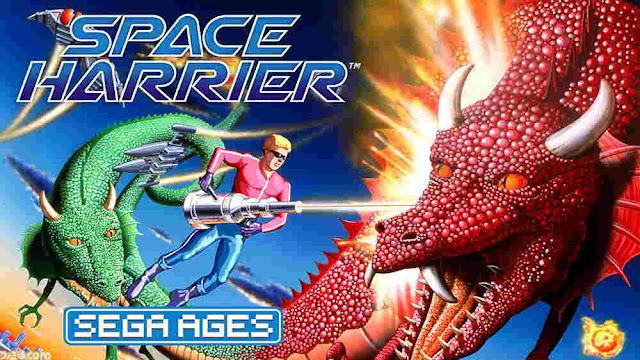 Game Space Harrier Rilis Untuk Switch di Jepang Melalui Proyek Sega Ages pada 27 Juni