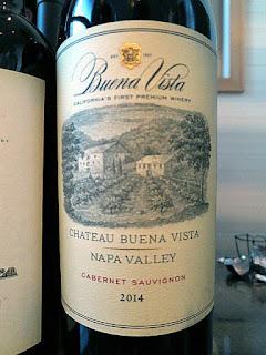 Buena Vista Chateau Buena Vista Cabernet Sauvignon 2014 (91 pts)