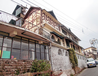 Cochrane Place in Kurseong