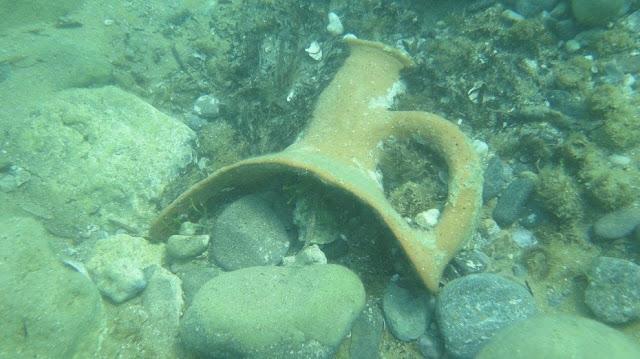 Byzantine shipwreck off Sicilian coast