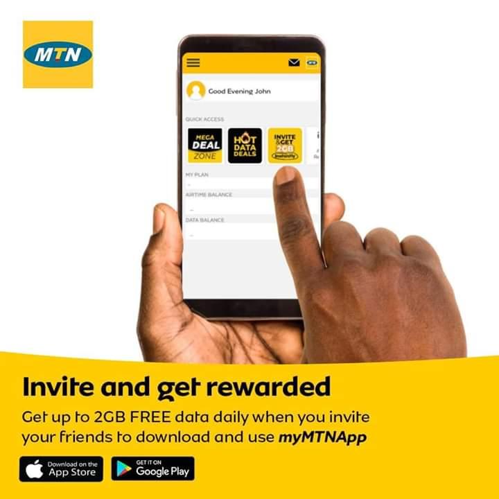Get MTN 2GB free data and Also Become MTNTikTokChallenge Ambassador 