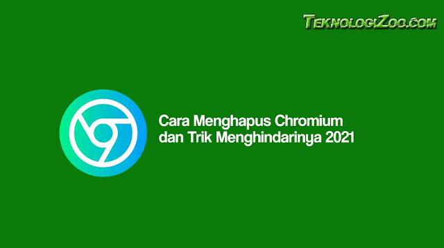 cara menghapus chromium di laptop windows 7