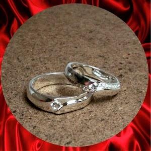 cincin paladium perak p742