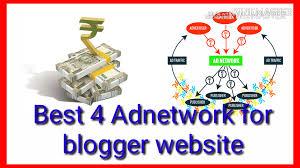 4 Best adnetwork for blogger website. earn money from blog.