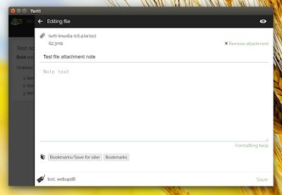 Turtl desktop application