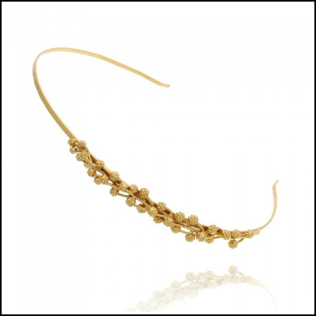 gold floral headbands, floral wedding headbands, floral bridesmaid hair accessories, floral wedding accessories