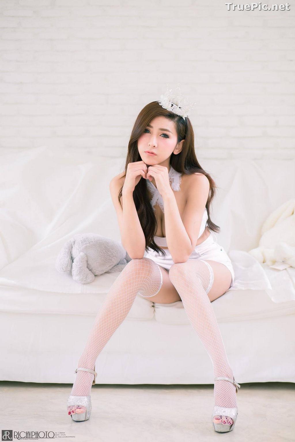 Image Thailand Model - Jurarak Untao - Beautiful in White - TruePic.net - Picture-6
