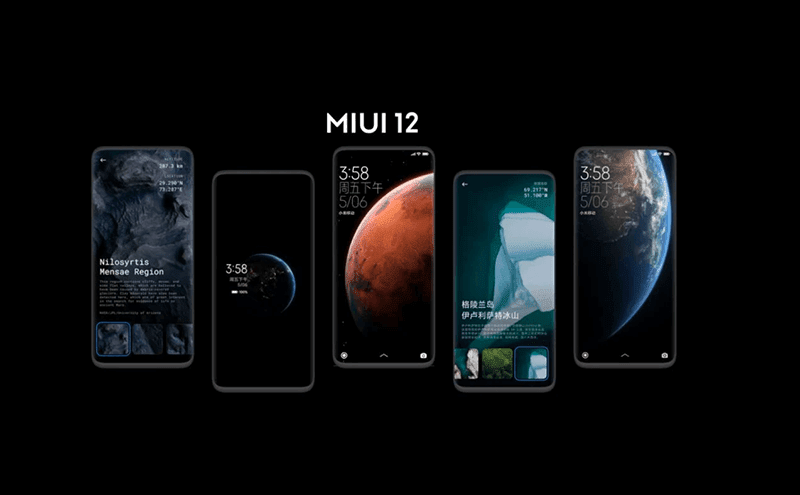 Xiaomi MIUI 12 now official with new design and features