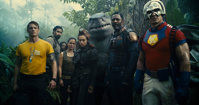 Joel Kinnaman, Alice Braga, Carmen Cecilia Halphen, Sylvester Stallone, Idris Elba, John Cena. Fotograma de HBO Max.