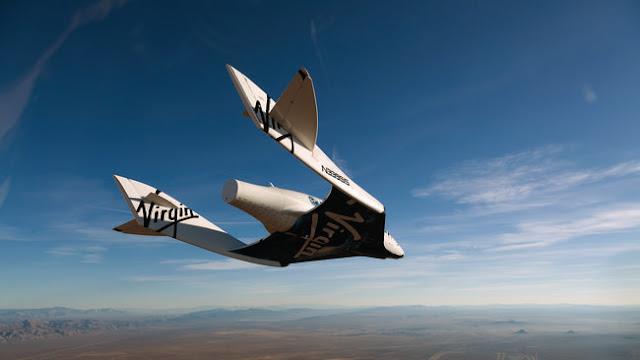 Tentang SpaceShipTwo, Pesawat Tur Antariksa Richard Branson