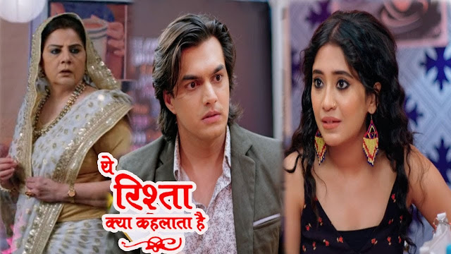 Big Twist : Sita cunning move eyeing Tina-Kartik together in cafe in Yeh Rishta Kya Kehlata Hai