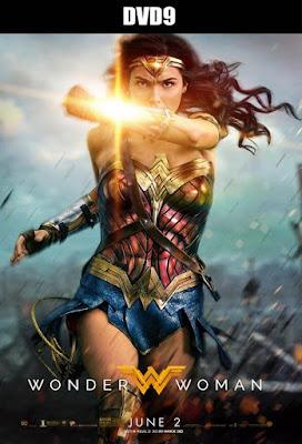 Wonder Woman 2017 DVD9 R1 NTSC Latino