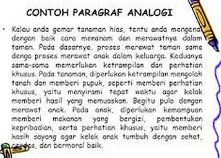 Contoh Paragraf Analogi