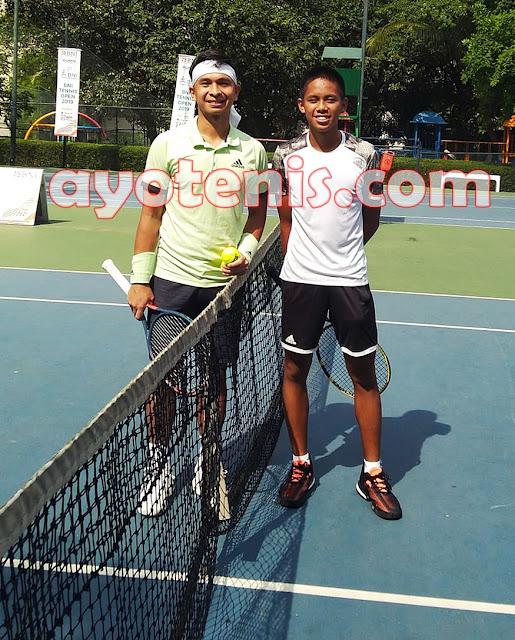 Usai Lawan Christo, Dio Petik Banyak Pelajaran Dari Sang Idola dan Segera Fokus Hadapi ITF Junior di Kamboja